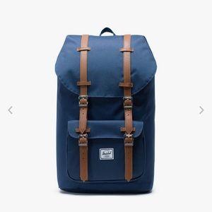 Herschel Little America Backpack - navy & brown